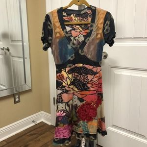 Desigual Short Sleeve Dress